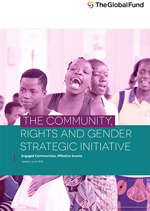 Community, Rights and Gender Strategic Initiative Update (June 2020)