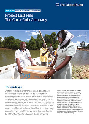 Focus On Private Sector Partnerships: Project Last Mile - The Coca-Cola Company