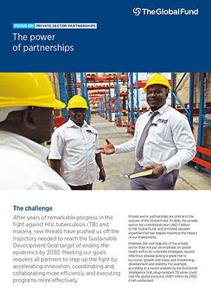 Focus On Private Sector Partnerships: The Power of Partnerships